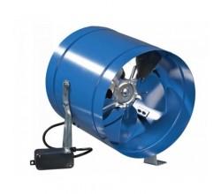 Potrubný ventilátor VENTS VKOM 250 -priemer napojenia 262mm výkon:1070m3/h 230V
