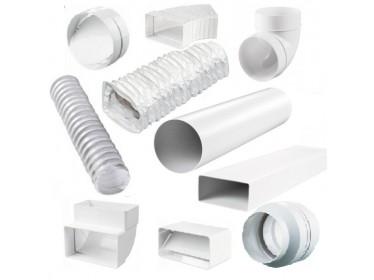 Plastové potrubia a rozbočky