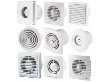 Ventilátory do kúpelne-klasický dizajn
