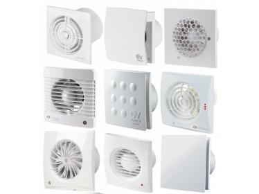 Ventilátory do kúpeľne-so zníženou hlučnosťou