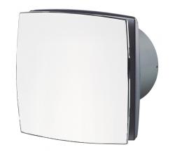 Ventilátor Vents 100LDA Chróm lesk základ-zapínanie a vypínanie vypínačom na svetlo