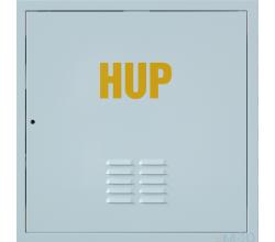 Revízne dvierka kovové HUP 300x300 biele