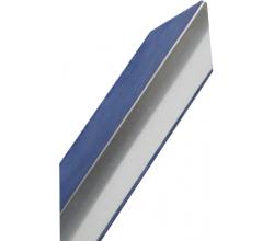 Ochranná rohová lišta hliník-farba prírodný brúsený hliník výška1m/45mm/45mm