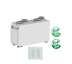 Rekuperačná jednotka VENTS VUE 300 V2 mini EC A14 Vertikal Entalpická