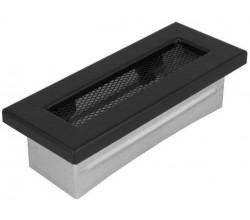 Kanál mriežka150x50  čierna