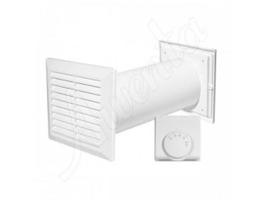 Ventilátory na prenos teplého vzduchu do druhej miestnosti