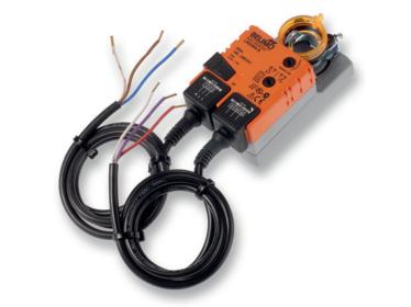 LM A-(S), LM A-SR Belimo - klapkové pohony 5 Nm pre klapky do 2 m²