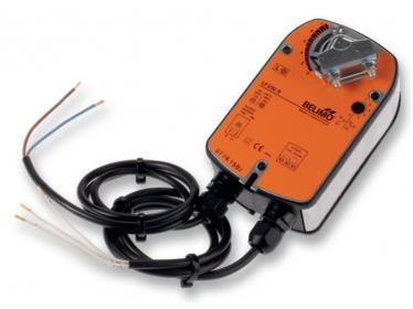 SM A-(S), SM A-SR Belimo - klapkové pohony 4 Nm pre klapky do 0.8 m²