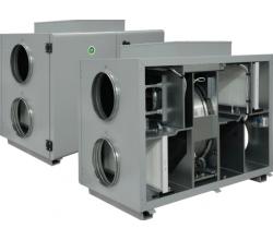 HRS-R H 400 E EKO - Efektivita: 75% - Krytie: IP54 - Filter: M5/F7 - s elektrickým predohrevom