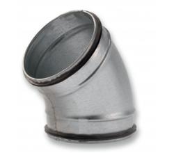 BDG45 - 45° - Koleno s gumeným tesnením - 100mm