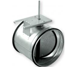 AKH 080 - Spätná klapka so silikonovým tesnením - ručné ovládanie