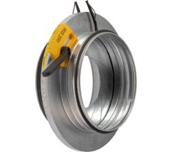 IRIS 100mm - spätná klapka s tlakomerom