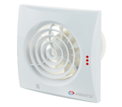 Ventilátor VENTS 100 Quiet Duo - dvojrýchlostné - zapínanie a vypínanie vypínačom na svetlo