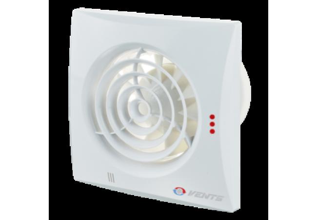 Ventilátor VENTS 100 Quiet Duo TH - dvojrýchlostné - zapínanie a vypínanie s časovačom alebo parovým spínačom