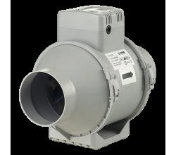 Poloradiálne odsávacie ventilátory Blauberg Turbo 100 priemer 100mm-dvojrýchlostný výkon:170-220m3/h napätie 230V