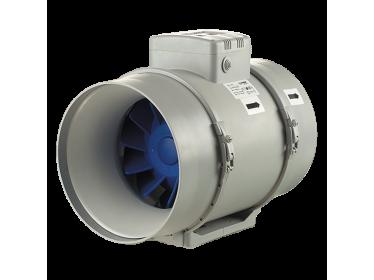 Poloradiálne potrubné ventilátory Blauberg Turbo