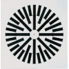 Mriežky do podhľadu hranaté plastové, kovové a hliníkové