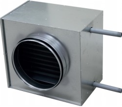 CWA - 100mm - Vodný ohrievač kalorifer