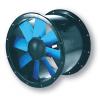 Potrubné priemyselné axiálne ventilátory s prírubou typ Duct-M