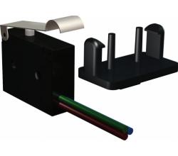 FCU SC - koncový spínač pre SC protipožiarnej klapky