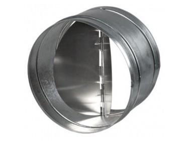 Spätné klapky kovové - medzi kruhové potrubia