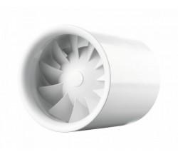Vents 100 Quiet Line-vhodná na montáž do stropu-zapínanie vypínačom na svetlo-výkon 100m3/h hlučnosť:25dBA ochrana:IPX4