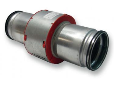 Protipožiarné goliere s pripojovacou rúrou do kruhového potrubia MG2+R