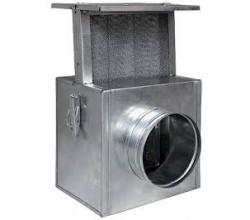 Filter Darco izolovaný 100mm  drátený filter vhodná ku krbu