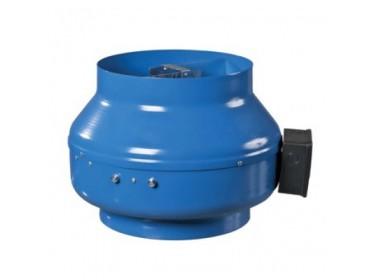 Poloradiálne ventilátory s kovovým puzdrom