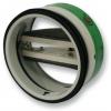 Spätné klapky protipožiarné - do kruhového potrubia