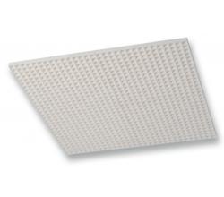 PS/PR 1195 x595mm- 6000 m³/h - stropný anemostat plastový biely