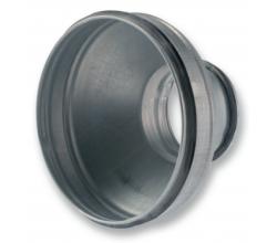 RDG 100/80 - Koncentrická redukcia+ gumové tesnenie