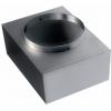 Pripojovacie skrinky pre nástenné a podlahové mriežky REW