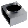 Izolované pripojovacie skrinky pre nástenné a podlahové mriežky REW ISO