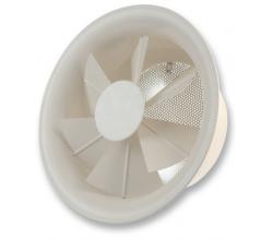 RWR-4 TC 200 - Stropný anemostat s termostatickým regulátorom