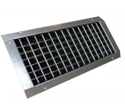 SPN-VH GALVA 200 x 075 MM (LxH) - Dvojradová mriežka pre SPIRO potrubie