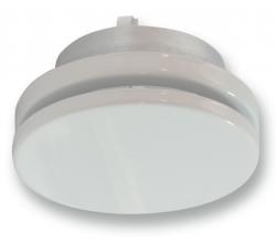 SVA 80mm (RAL 9016) - Tanierový ventil kovový - prívodný/odvodný