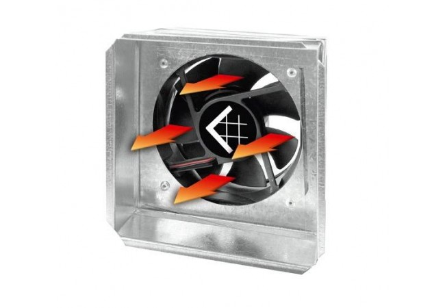 17x17/100 Ventilátor  do mriežky STANDART