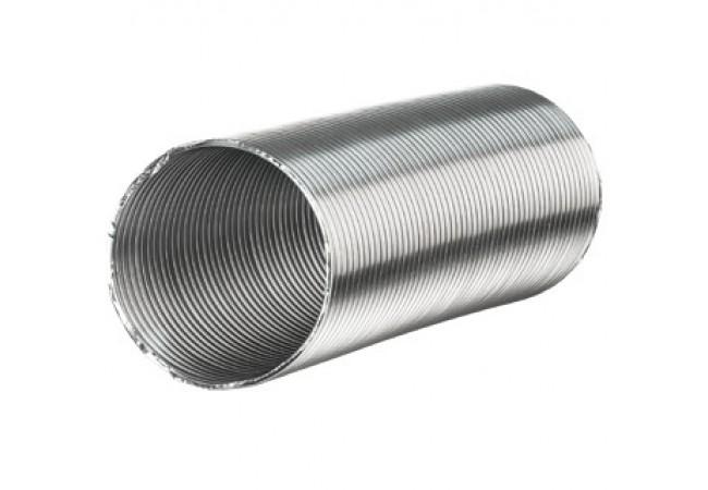 Aluvent Ø 160/4mHliníkové flexibilné potrubie