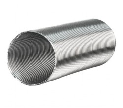 Aluvent  Ø 80/1m  Hliníkové flexibilné potrubie
