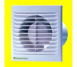 Domovent 100 ST+časový dobehzapínania a vypínanie spínačom na svetlo montáž na stenu