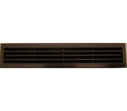 Mriežka do dverí MV430/2 hnedá-bez sieťky proti hmyzu-obojstranná