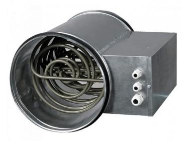 Elektrické ohrievače typ VENTS NK do kruhového potrubia