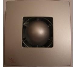 Ventilátor VENTS 100 T Colibri Atoll Titán+časový dobeh-hliníková farba mriežky