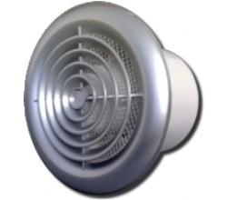 Ventilátor 100PFchrom-predná mriežka pochrómovaná-zapínanie a vypínanie vypínačom na svetlo