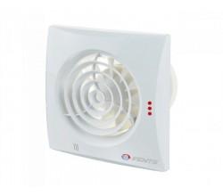 Ventilátor 100TH QUIET-časový dobeh-parový senzor-guličkové ložisko-možnosť použitia do stropu+spätná klapka membránová