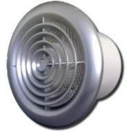 Ventilátor 125PFchrom-zapínanie a vypínanie vypínačom na svetlo-pochromovaná predná mriežka