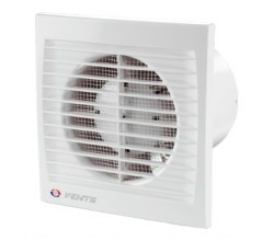 Ventilátor Vents 125STL-časový dobeh-guličkové ložisko-možnosť použitia do stropu