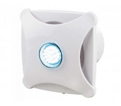 Ventilátor Vents 100XL star-riadenie vypínačom na svetlo-gulôčkové ložisko-vhodná do stropu+led podsvietenie