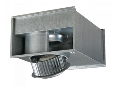 Priemyselné radiálne ventilátory k obdĺžnikovým potrubiam.
